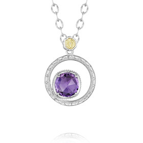 Gemma Bloom Amethyst Fashion Necklace (SN14001)