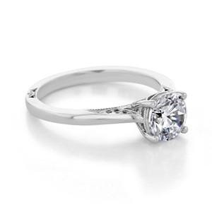 Tacori Dantela Moissanite Engagement Ring (2638RD65-M)