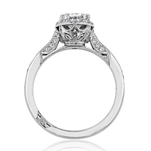 Tacori Dantela Moissanite Engagement Ring (2620OVSMP-M)