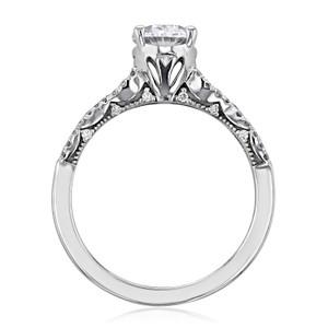 Tacori Coastal Crescent Moissanite Engagement Ring (P105OV8X6FW-M)