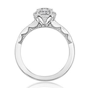 Tacori Coastal Crescent Moissanite Engagement Ring (P103CU6FW-M)