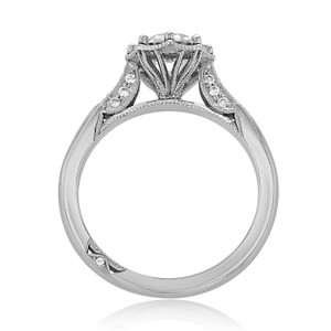 Simply Tacori Moissanite Engagement Ring (2653RD75-M)