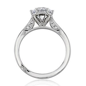 Simply Tacori Moissanite Engagement Ring (2650RD75-M)