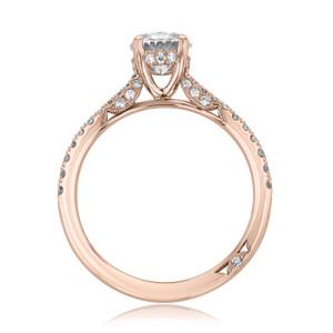 Tacori Petite Crescent Engagement Ring (2671OV8X6)