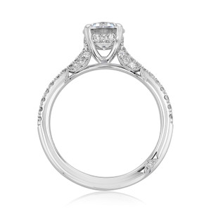 Tacori Petite Crescent Engagement Ring (2671RD65)