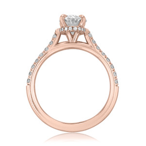 Micro-Prong Engagement Ring (CR09R-OV)