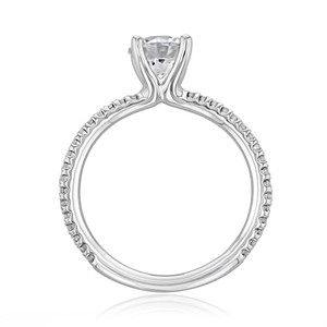 Micro-Prong Engagement Ring (BR0260)