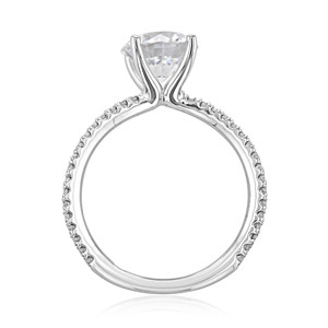 Micro-Prong Engagement Ring (BR0260-200)