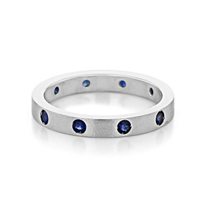 Blue Sapphire Wedding Band (6001537)