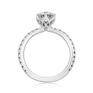 Micro-Prong Engagement Ring (FG10)