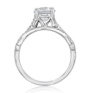 Micro-Prong Engagement Ring (MR3)