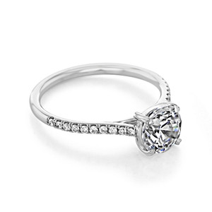 Danhov Classico Engagement Ring  (CL138)