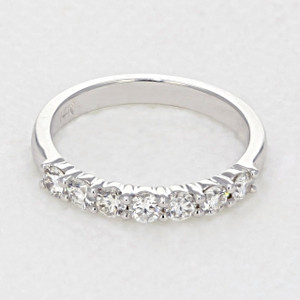 Shared Prong Wedding Band (LB142)
