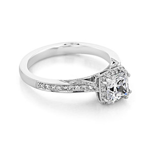 Tacori Dantela Engagement Ring (2620PRSMPW)
