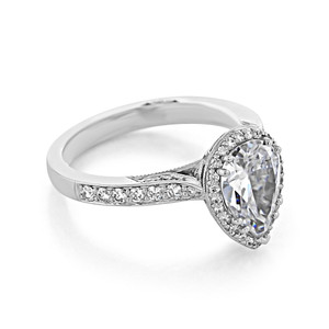 Tacori Dantela Engagement Ring (2620PS10X7P)