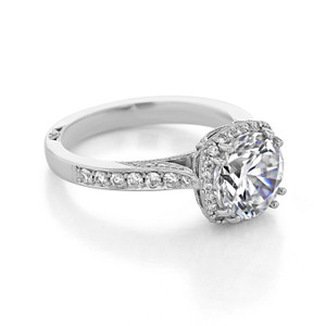 Tacori Dantela Engagement Ring (2620RDLG)