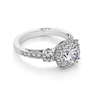 Tacori Dantela Engagement Ring (2623RDLGP)