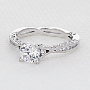 Tacori Classic Crescent Engagement Ring (2645RD61/2)