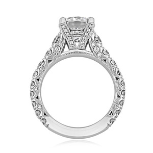 Tacori RoyalT Engagement Ring (HT2623RD85)
