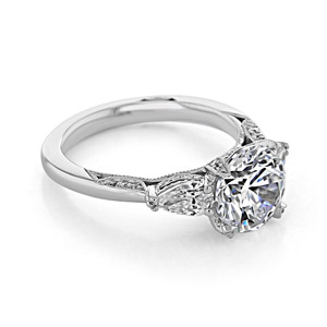 Tacori RoyalT Engagement Ring (HT2628RD85)