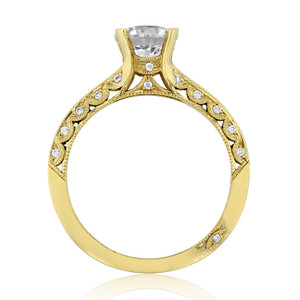 Tacori Classic Crescent Engagement Ring (2616RD65)