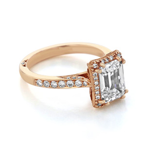 Tacori Dantela Engagement Ring (2620ECLGP)