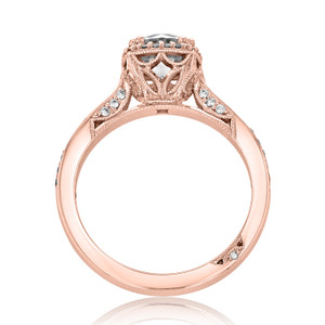 Tacori Dantela Engagement Ring (2620RDSMPPK)