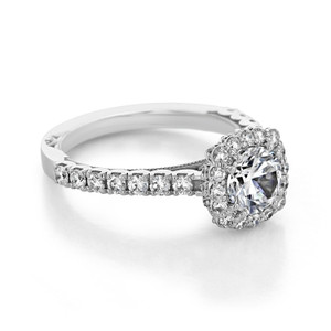 Tacori Full Bloom Engagement Ring (37-2CU65)