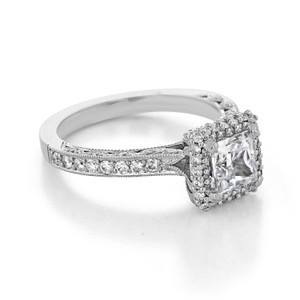 Tacori Blooming Beauties Engagement Ring (HT2522PR55)