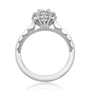 Tacori Sculpted Crescent Engagement Ring (59-2RD65)