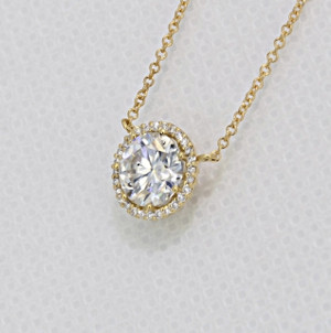 Tacori Diamond Bloom Moissanite Fashion Necklace (FP6707Y)