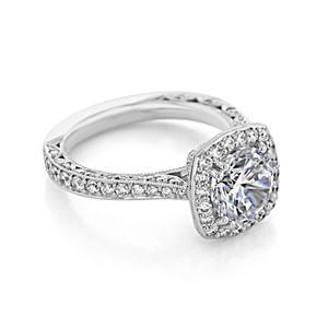 Tacori RoyalT Engagement Ring (HT2650CU8)