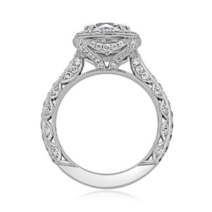 Tacori RoyalT Engagement Ring (HT2650CU8)