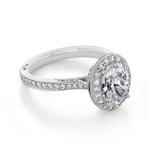 Tacori RoyalT Engagement Ring (HT2652OV9X7)
