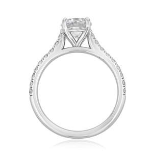 Micro-Prong Engagement Ring (AV19)