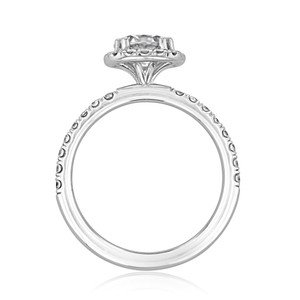 evertrue Halo Engagement Ring (EV15)