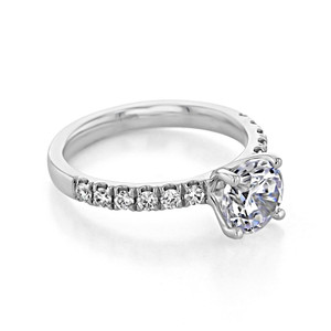 evertrue Micro-Prong Engagement Ring (EV19)