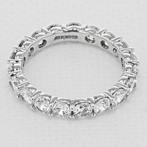 Shared Prong Wedding Band (33-V15K4W65)