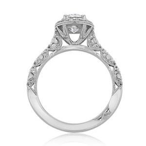 Tacori Petite Crescent Engagement Ring (HT2560OV8X6)