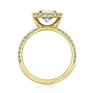 Danhov Per Lei Engagement Ring (LE102-OV)