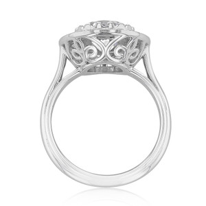 Halo Solitaire Engagement Ring (CR150)