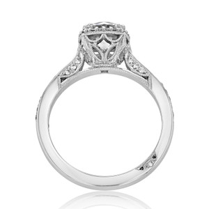 Tacori Dantela Engagement Ring (2620RDSMP)