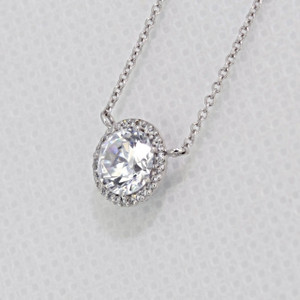Tacori Dantela Moissanite Fashion Necklace (FP67065-M)