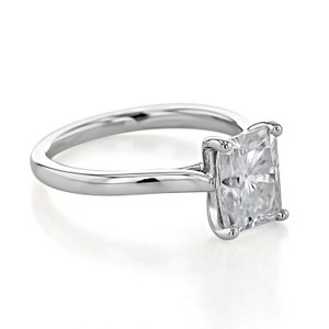 Solitaire Moissanite Engagement Ring (SO71-M)