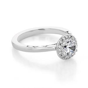 Tacori Coastal Crescent Engagement Ring (P101RD65FW)