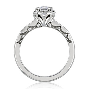 Tacori Coastal Crescent Engagement Ring (P103EC7X5F)