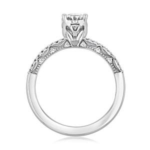 Tacori Coastal Crescent Engagement Ring (P104OV75X55F)