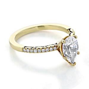 Tacori Coastal Crescent Engagement Ring (P104PS9X6)