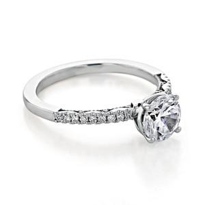 Tacori Coastal Crescent Engagement Ring (P104RD65FW)