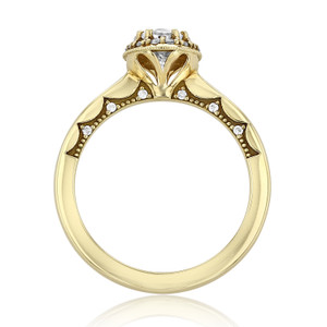 Tacori Coastal Crescent Engagement Ring (P101OV75X55)